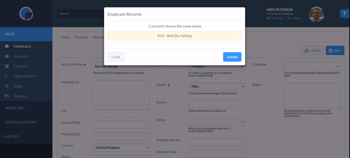 Manage Duplicate Accounts In Your Crm Systems