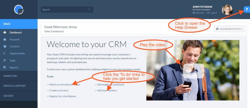CRM Getting Started - Really Simple Systems CRM